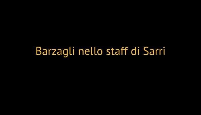 Barzagli nello staff di Sarri