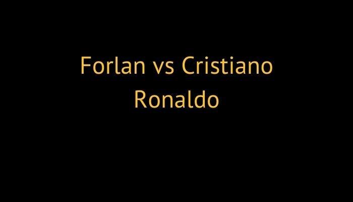 Forlan vs Cristiano Ronaldo