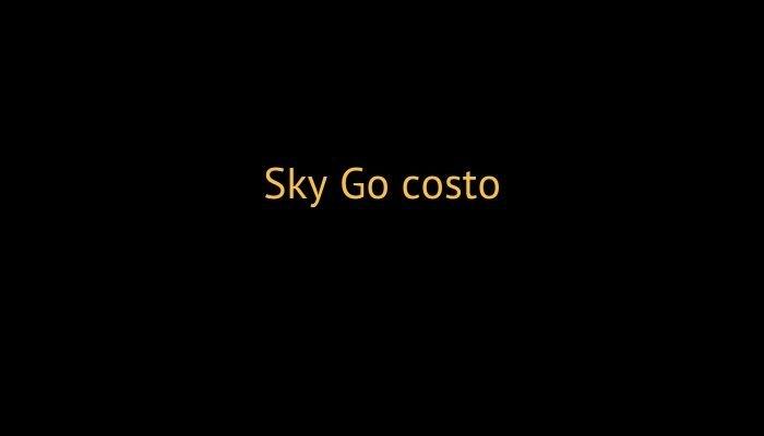 sky go costo