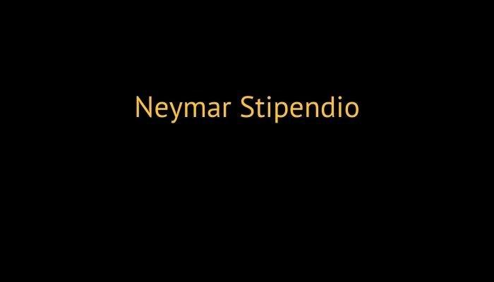neymar stipendio